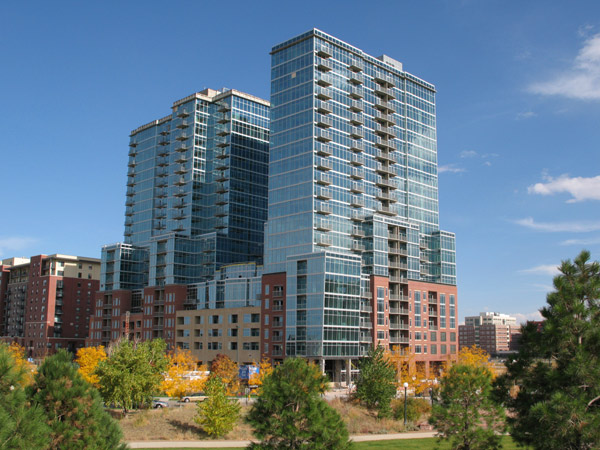 glass house denver in riverfront park