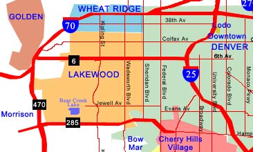 Lakewood Colorado Map Lakewood Colorado Demographics and Population Statistics